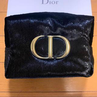 Dior - Dior ディオール ポーチ ブラック クリスマス