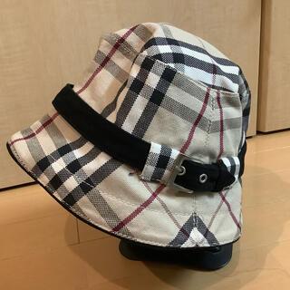 バーバリー(BURBERRY)のバーバリーチェック帽子(ハット)