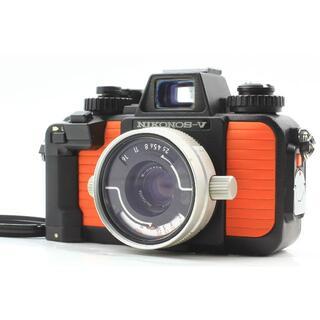 ニコン(Nikon)のNIKONOS V 水中カメラ ニコノスV + 35mm F/2.8 レンズ(フィルムカメラ)
