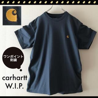 carhartt - カーハート WIP★チェイスTシャツ★ワンポイント刺繍ロゴ★ヘビーコットン