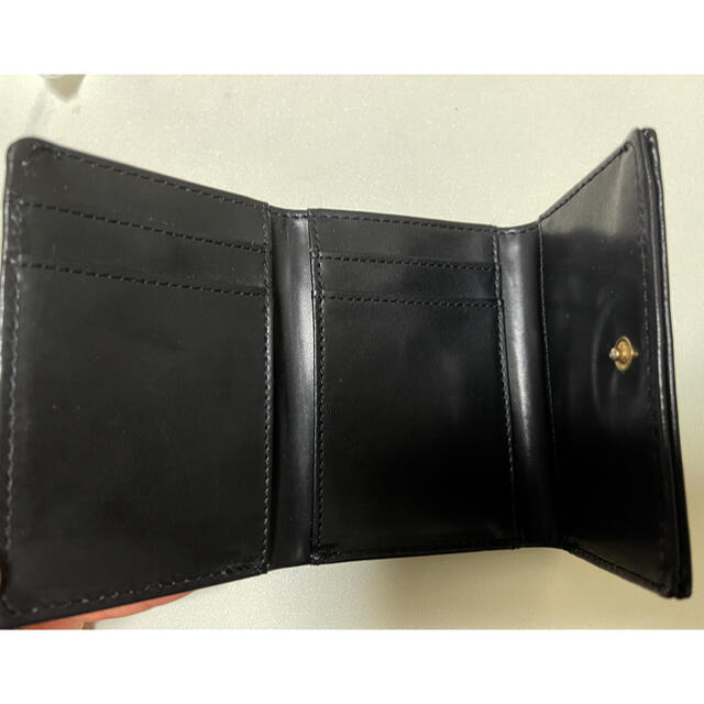 MURUA(ムルーア)のMURUA ムルーア スタッズつき ミニ財布 ブラック レディースのファッション小物(財布)の商品写真