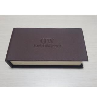 ダニエルウェリントン(Daniel Wellington)のダニエルウェリントン DW 箱 ボックス レザー(腕時計(アナログ))