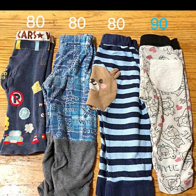 男の子ズボン 80〜90㎝ キッズ/ベビー/マタニティのキッズ服男の子用(90cm~)(パンツ/スパッツ)の商品写真