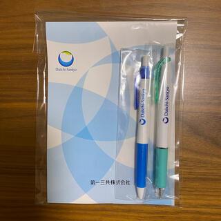 【未使用】製薬会社 ボールペン2本・メモ帳セット