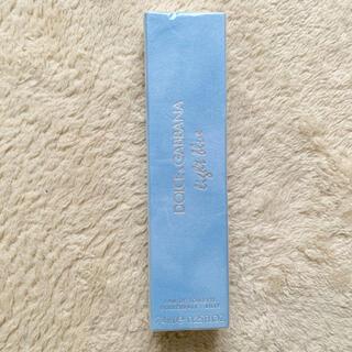 ドルチェアンドガッバーナ(DOLCE&GABBANA)の新品 ドルチェ&ガッバーナ ライトブルー オードトワレ ローラーボール (香水(女性用))