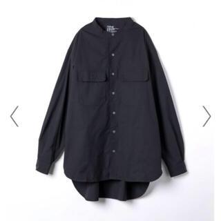 東原亜希 FORME  ビッグシャツ ブラック