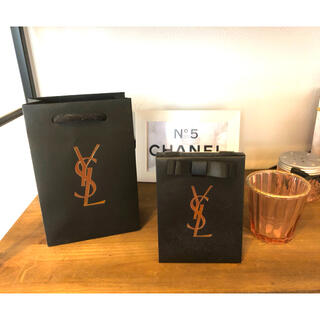 イヴサンローランボーテ(Yves Saint Laurent Beaute)の美品 限定 イヴサンローラン  ショップ袋 プレゼント袋(ショップ袋)