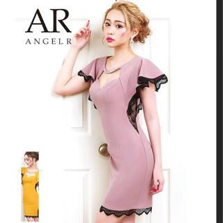 エンジェルアール(AngelR)のAR angelr キャバ ドレス サイドレース(ミニドレス)