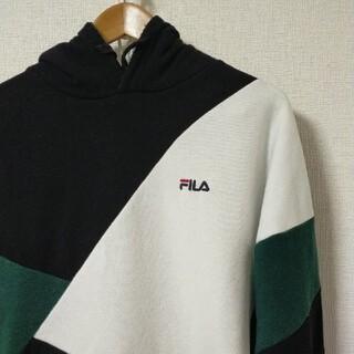 フィラ(FILA)のFILA レアカラー 刺繍ロゴ入りパーカ(パーカー)