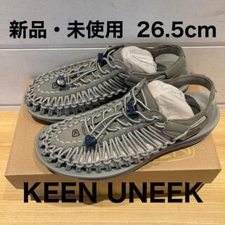 キーン(KEEN)のUNEEK 26.5cm【新品・未使用】(サンダル)