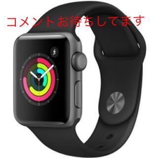 Apple Watch - Apple Watch series3 42㎜ アップルウォッチ スペースグレー