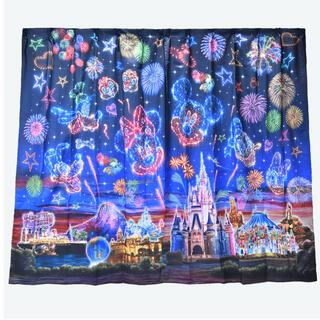 ディズニー(Disney)の新品☆ ディズニーリゾート 夜空 花火 カーテン(カーテン)