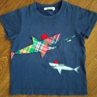 ファミリア(familiar)のファミリア Tシャツ 100 サメ(Tシャツ/カットソー)
