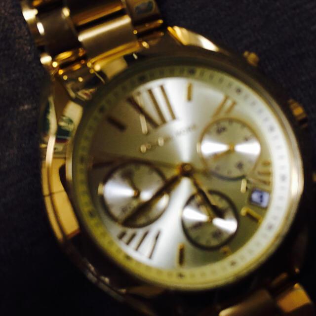 Michael Kors(マイケルコース)のマイケルコース 腕時計 【美品】 レディースのファッション小物(腕時計)の商品写真