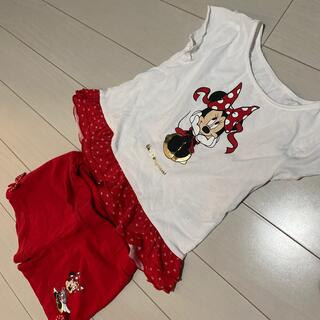 ディズニー(Disney)のディズニーワールド セット 3T(Tシャツ/カットソー)