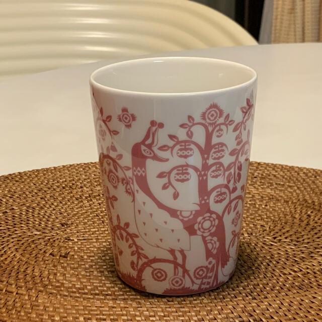 iittala(イッタラ)の日本未発売!イッタラ☆タイカ☆ピンク マグカップ ♪グラス コップ インテリア/住まい/日用品のキッチン/食器(グラス/カップ)の商品写真