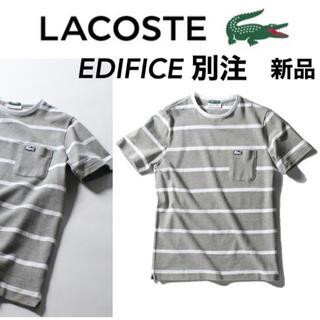 LACOSTE - 新品LACOSTE×EDIFICE別注 鹿の子EXCLUSIVE EDITION