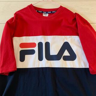 FILA - FILA オーバーTシャツ (極美品)