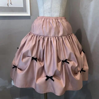 René - 極美品 定価15,400円 capricious mieリボンつまみスカート