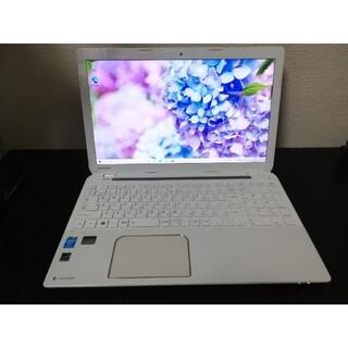 東芝 - TOSHIBA ノートパソコン パールホワイト T455