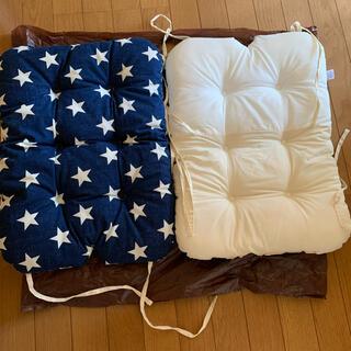 ニシマツヤ(西松屋)の西松屋 洗えるチェアクッション 2個セット(その他)