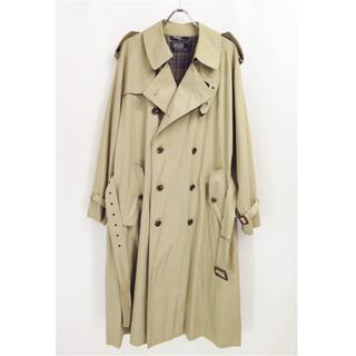 ポロラルフローレン(POLO RALPH LAUREN)の80s - 90s ラルフローレン 一枚袖 ロング トレンチ コート(トレンチコート)