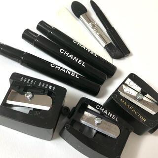 シャネル(CHANEL)のシャープナー、ミニ筆、アイシャドウチップ他 計9点セット(ブラシ・チップ)