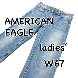 アメリカンイーグル(American Eagle)のAMERICAN EAGLE スキニー スーパーストレッチ US2 SHORT(デニム/ジーンズ)
