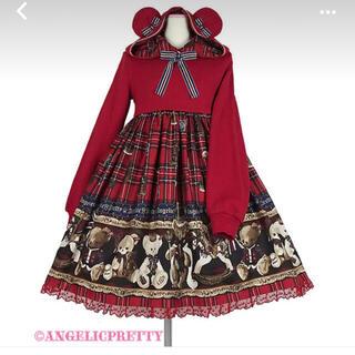 Angelic Pretty - Angelic PrettyのBritish Bear カットワンピース