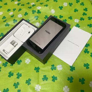 iPhone - 新品バッテリー100% SIMロック解除iPhone8 64GB スペースグレイ
