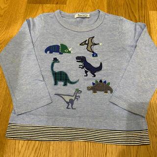 ファミリア(familiar)のファミリア 恐竜 ロンT 100㎝ (Tシャツ/カットソー)