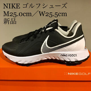 NIKE - 【新品】ナイキ NIKE ゴルフシューズ 男性25.0cm/女性25.5cm