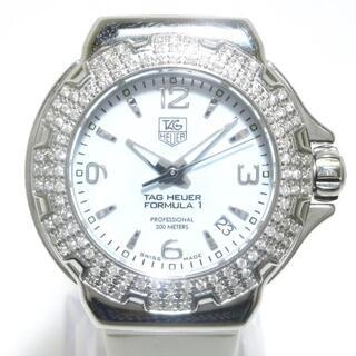 TAG Heuer - タグホイヤー 腕時計美品  レディース 白