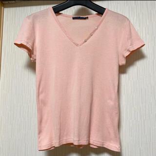 ラルフローレン(Ralph Lauren)のラルフローレン ボタンデザインカットソー(Tシャツ(半袖/袖なし))