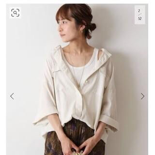 FRAMeWORK - FRAMeWORK楊柳製品染めシャツ タグ付き未使用