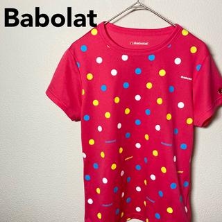 バボラ Babolat レディース Tシャツ Lサイズ ピンク