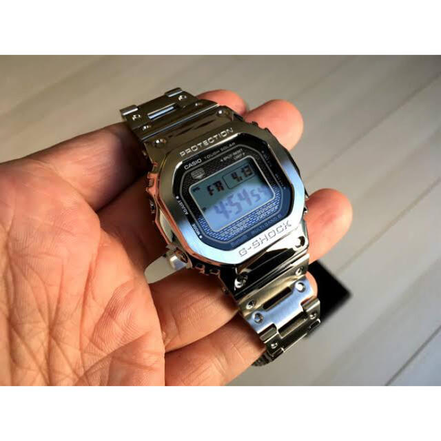 G-SHOCK(ジーショック)のGMW-B5000D-1JF G-SHOCKフルメタル メンズの時計(腕時計(デジタル))の商品写真