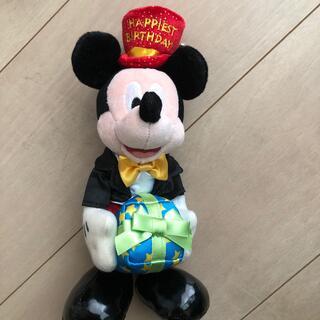 Disney - ミッキー バースデイぬいぐるみ