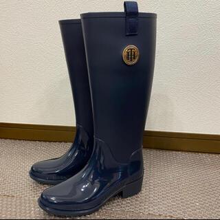ラルフローレン(Ralph Lauren)のTOMMY HILFIGER レインブーツ US6(レインブーツ/長靴)