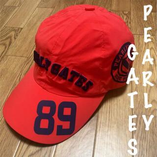パーリーゲイツ(PEARLY GATES)の美品⛳️パーリーゲイツ  レインキャップ  帽子  ユニセックス(ウエア)