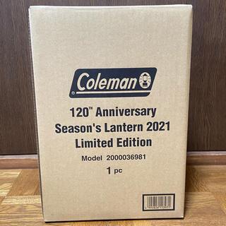 コールマン(Coleman)のColeman 120周年 シーズンズランタン 2021(ライト/ランタン)