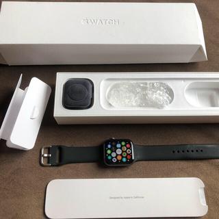 Apple Watch - Apple Watch Series 4 44mm スペースグレイ GPSモデル