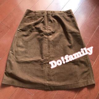 ドゥファミリー(DO!FAMILY)のお値下げしました☆ドゥファミリー スカート M 裏地なし ポケットなし(ひざ丈スカート)