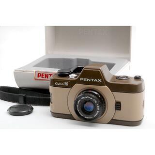 PENTAX - PENTAX auto 110 + 24mm F2.8 ブラウン ハードケース付