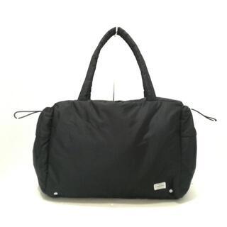 ポーター(PORTER)のポーター ハンドバッグ美品  - 黒 ナイロン(ハンドバッグ)