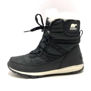 ソレル(SOREL)のSOREL(ソレル) ブーツ 24 レディース - 黒(ブーツ)