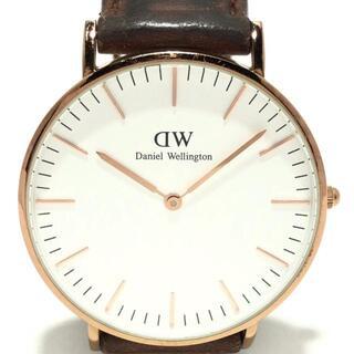ダニエルウェリントン(Daniel Wellington)のダニエルウェリントン 腕時計 - メンズ(その他)