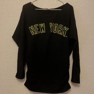 エルビーゼロスリー(LB-03)のヤンキース 長袖シャツ(Tシャツ(長袖/七分))