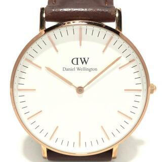 ダニエルウェリントン(Daniel Wellington)のダニエルウェリントン 腕時計 - B10 メンズ(その他)