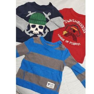 ベビーギャップ(babyGAP)の激安babyGAP ロンT 3点セット(Tシャツ/カットソー)